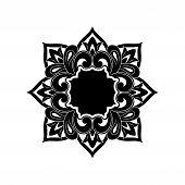 Save Download Preview Black Vintage Ornaments, Baroque Ornaments, Scroll Ornaments, Border Carving D poster