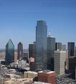 Downtown Dallas-Vista leste