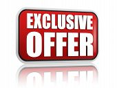 Exclusive Offer Red Banner