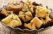 stock photo of phyllo dough  - arabic baklava - JPG