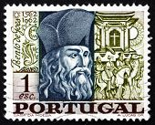 Postage Stamp Portugal 1968 Bento De Goes, Jesuit Brother