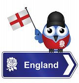 Country sign England