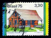 Enxaimel oder Fachwerk In Santa Catarina In Brasilien