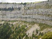 Creux Du Van In Switzerland