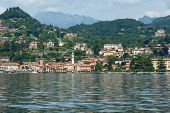 Lake Como (italy) Summer View