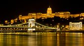 Chain Bridge and Castle of Budapest