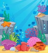 foto of undersea  - Image with undersea topic 3  - JPG
