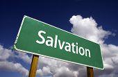 Salvation Road Sign