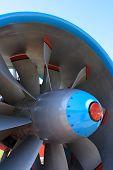 Jet Engine Blades.