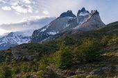 Torres Del Paine en Chile el Parque Nacional Los Cuernos