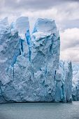 Geleira Perito Moreno na Argentina Close-Up