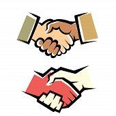Handshake Vector Symbol Set