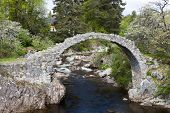 Old Packhorse bridge, Carrbridge, Highlands, Scotland