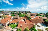 View Of Antalya City. Antalya Is Biggest International Sea Resort In Turkey