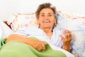 Talking Elderly Woman