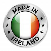 Made In Ireland Silver Badge