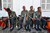 Nepali Military parade