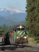Southbound BNSF Train
