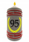 Birthday Candle For 95Th Birthday