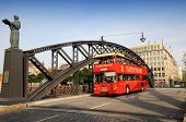 Speicherstadt  sightseeing bus - Hamburg city tour