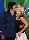 LOS ANGELES - AUG 27:  Tamra Barney & Eddie Judge arrives to NBC All Star Summer TCA Party 2013  on