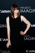 NEW YORK- OCT 24: Actress Bryce Dallas Howard attends the premiere of Canon's 'Project Imaginat10n'