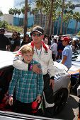 LOS ANGELES - APR 12:  Cole Hauser, son at the Long Beach Grand Prix Pro/Celeb Race Day at the Long