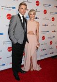 LOS ANGELES - APR 10:  Derek Hough, Julianne Hough at the Kaleidoscope Ball at Beverly Hills Hotel o