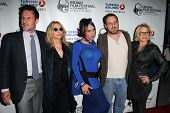 LOS ANGELES - APR 8:  David ,Rosanna, Alexis, Richmond, and Patricia Arquette at the Indian Film Festival Premiere of