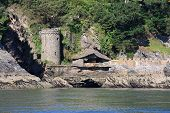 foto of dartmouth  - Kingswear castle by the River Dart - JPG