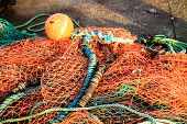 Fishing Net Orange Fishnet Outdoor
