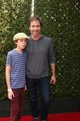 LOS ANGELES - APR 13:  Eric McCormack at the John Varvatos 11th Annual Stuart House Benefit at  John Varvatos Boutique on April 13, 2014 in West Hollywood, CA