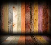 Colorful Different Planks Interior Design