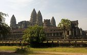 View From The Rear Entrance To Angkor Wat