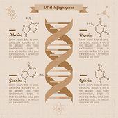 vintage medical infographics