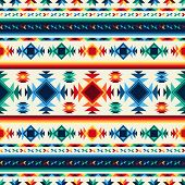 pic of aztec  - Tribal abstract seamless pattern aztec geometric background - JPG