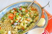 Minestrone  And Pasta