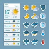 Weather Widget Icons