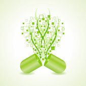 green hit-tech capsule design concept