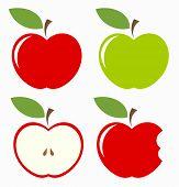 Set Of Apples