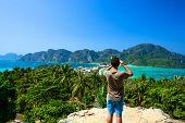 Phi phi island in Phuket, Krabi, Thailand