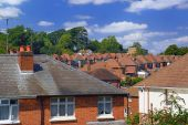 English Red Brick Suburb