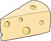 Chunk Of Swiss Cheese