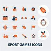 picture of ping pong  - sport games icons - JPG