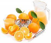 Fresh Squeezing Orange Juice