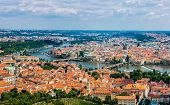 Cityscape Of Prague