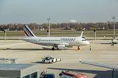 Airfrance  Passenger Jet At Ukraine Airport Boryspil