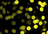 Yellow Abstract Lights