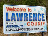 Lawrence County Pride Sign