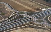 Highway Aerial Madrid